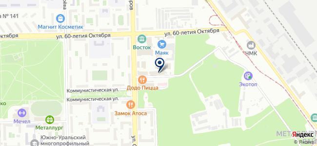 220Вольт, ООО на карте