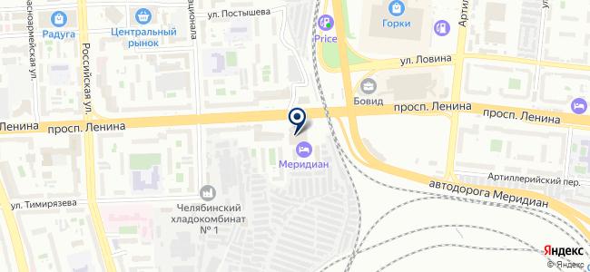 Агама, ООО на карте