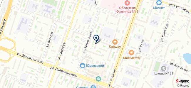 ФОСТ, ООО на карте