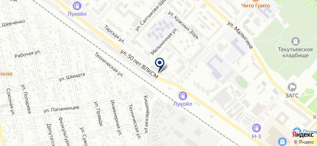 АБВ интерьер на карте