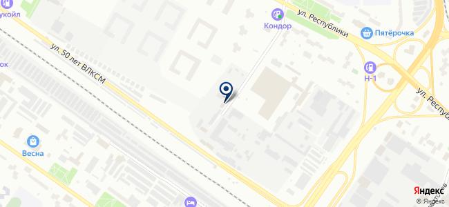 Акрил+, ООО на карте