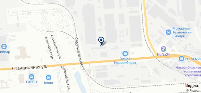 Акцепт, ООО на карте
