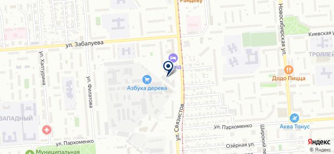 Ареаком, ООО на карте