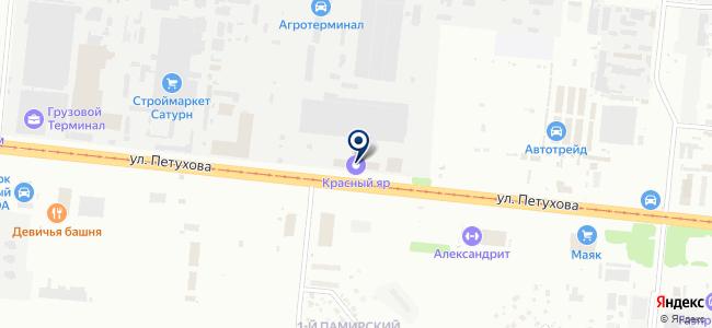 СибРемЭлектромаш, ЗАО на карте