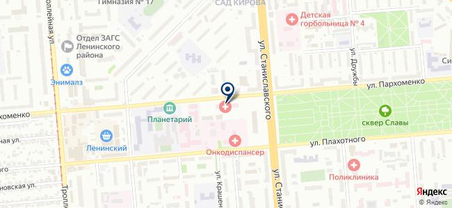 Приборы охраны на карте