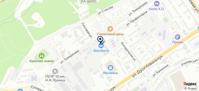 Афина Паллада, ЗАО на карте
