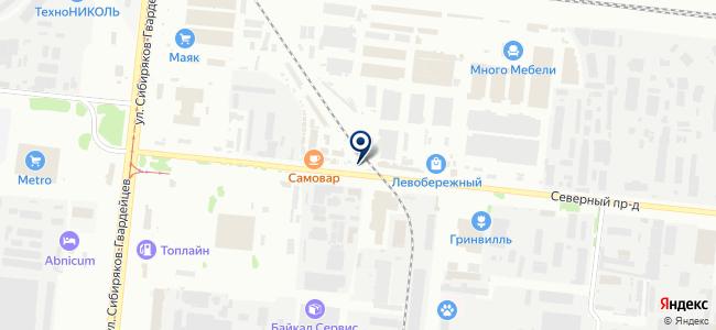 Акрима, ООО на карте