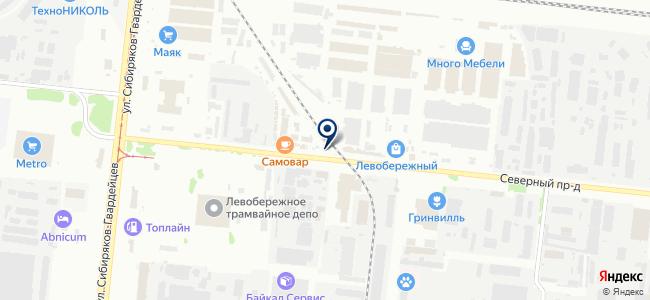 Акрил, ООО на карте