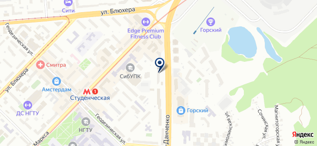 Сибэнерготрейд, ЗАО на карте
