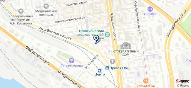 Электронприбор НСК, ООО на карте