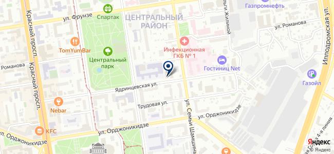 Теккно, ЗАО на карте