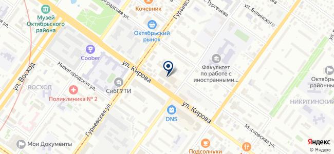 Агентство страховых споров, ЗАО на карте