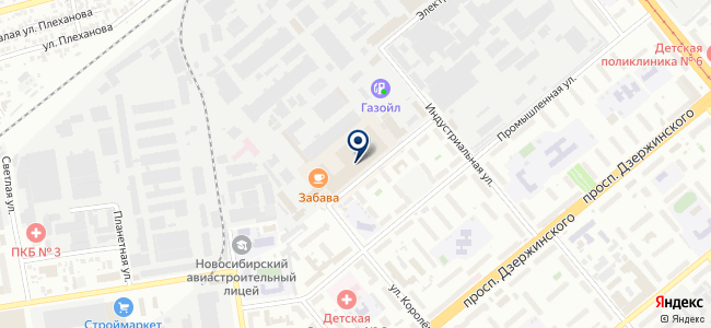 Актив Ремонт на карте