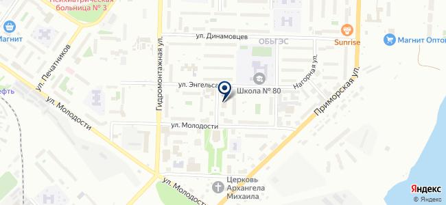 АквабарСибирь на карте