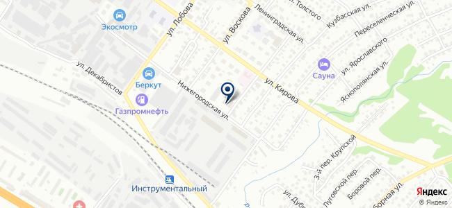 Аккумуляторные Технологии, ООО на карте