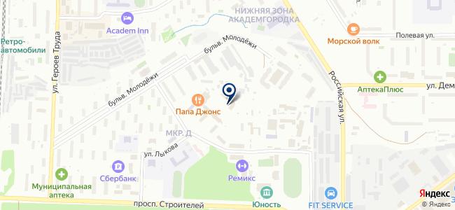 АкадемСвет, ООО на карте