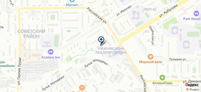 Светодиодное Освещение на карте