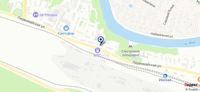 ВОДОПРОВОДОВЪ на карте