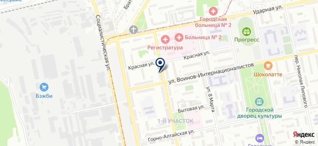 Техноград на карте