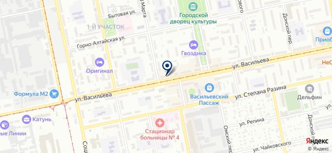 Термофор Бийск на карте