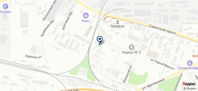 Агентство по сопровождению бизнеса на карте