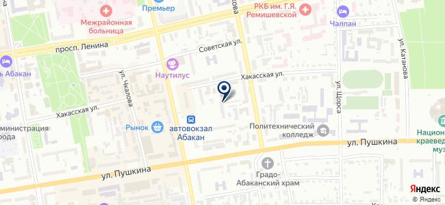 Абаканское прибороремонтное предприятие, ООО на карте