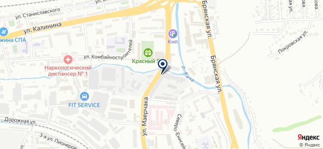 Акку-Фертриб, ЗАО на карте