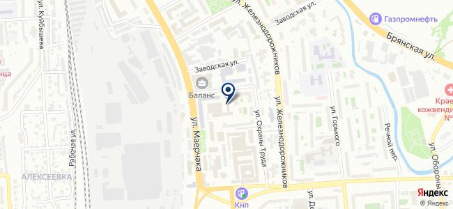 ААР на карте
