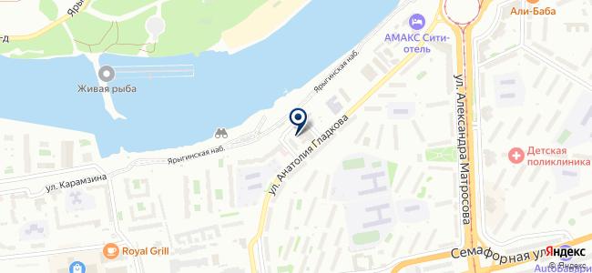 Адл Красноярск на карте