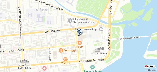 Акунон на карте