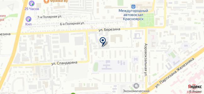 Аерон на карте