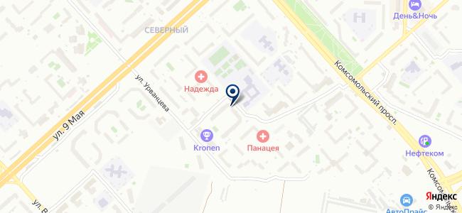 СИБИНВЕСТСТРОЙ, ООО на карте