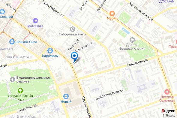 салон массажа для мужчин Монте-Карло в Иркутске - карта