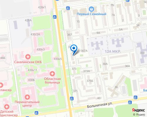 Карта проезда до клиники Аристократ