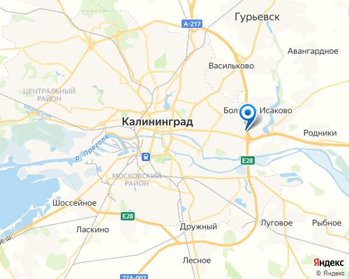 Юто Карс, Тойота, Калининград, ул. Большая Окружная