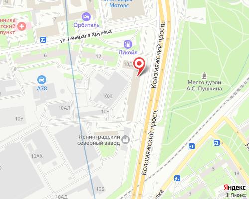 Схема проезда в Штаб