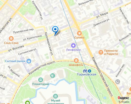 Продюсерский центр L&A на карте