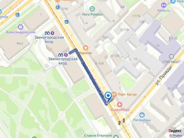 Схема: как добраться до офиса компании