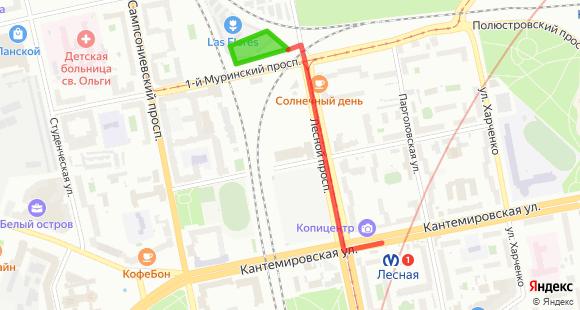 Схема проезда к НОВОЙ площадке