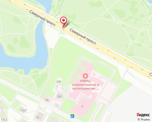 Схема проезда на полигон Сосновка