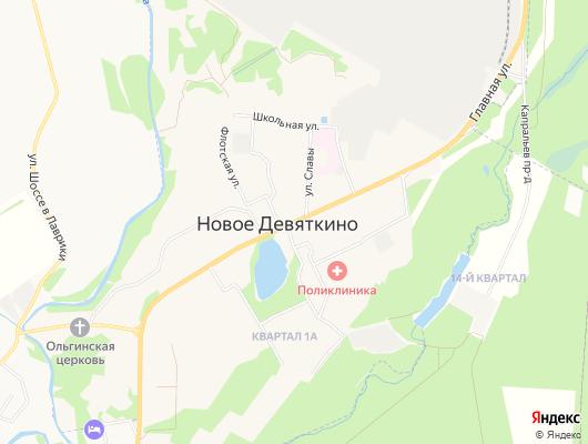 эвакуатор Новое Девяткино