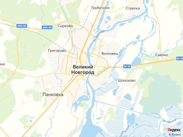 грузовой эвакуатор Великий Новгород