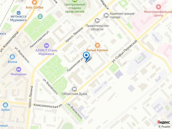 в Мурманске, купить в Мурманске: ул. Пушкинская, 5, оф. 25, вход со двора