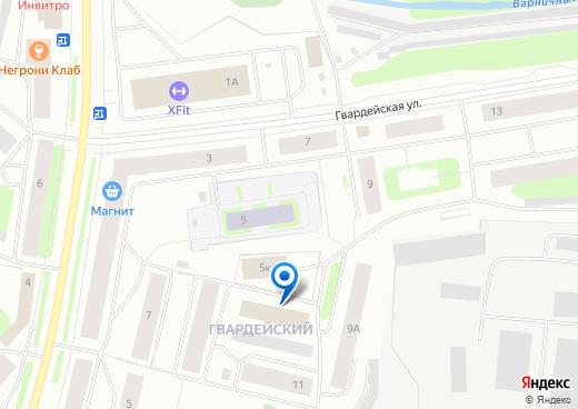 Расположение ПАО Мурманская ТЭЦ