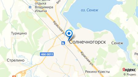 Лестница на металлокаркасе в Солнечногорске
