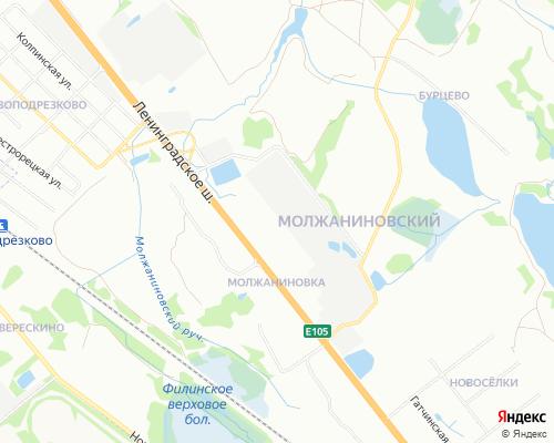 Ремонт холодильников в районе Молжаниновский ( САО )