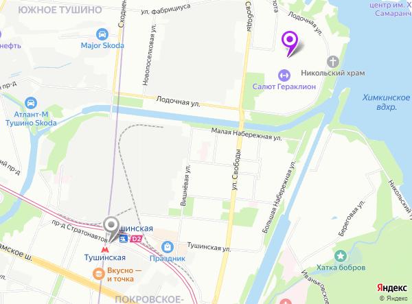 салон эротического массажа на метро Тушинская