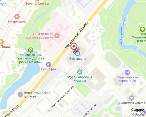 Олимпийская деревня д. 3 корп.1