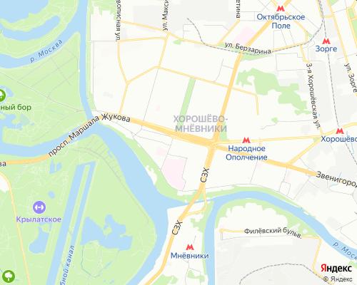 Ремонт холодильников в районе Хорошёво-Мневники ( СЗАО )