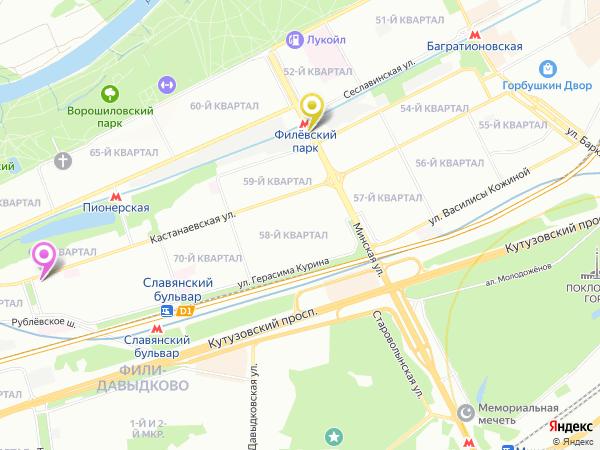 массаж метро Филевский парк